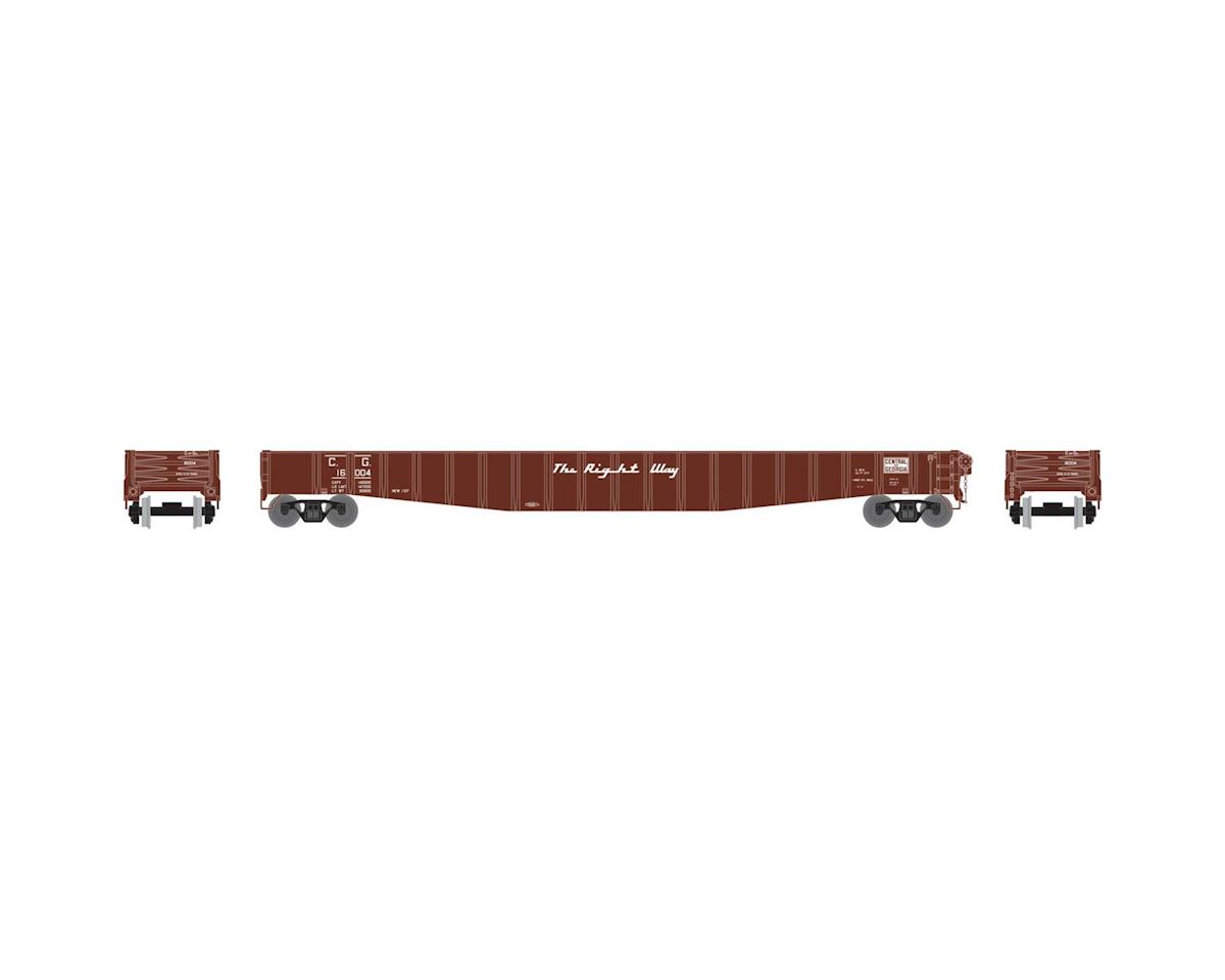 "Athearn N 65'6"" Mill Gondola, CofG #16004"