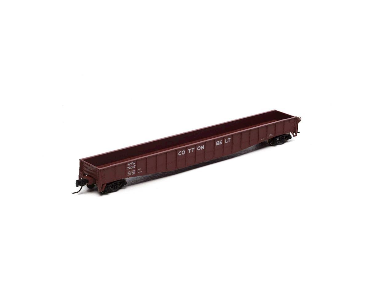 """Athearn N 65'6"""" Mill Gondola, SSW #72017"""