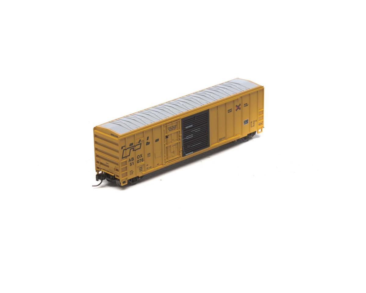 Athearn N RTR 50' FMC Combo Door Box, RBOX/Late #51076