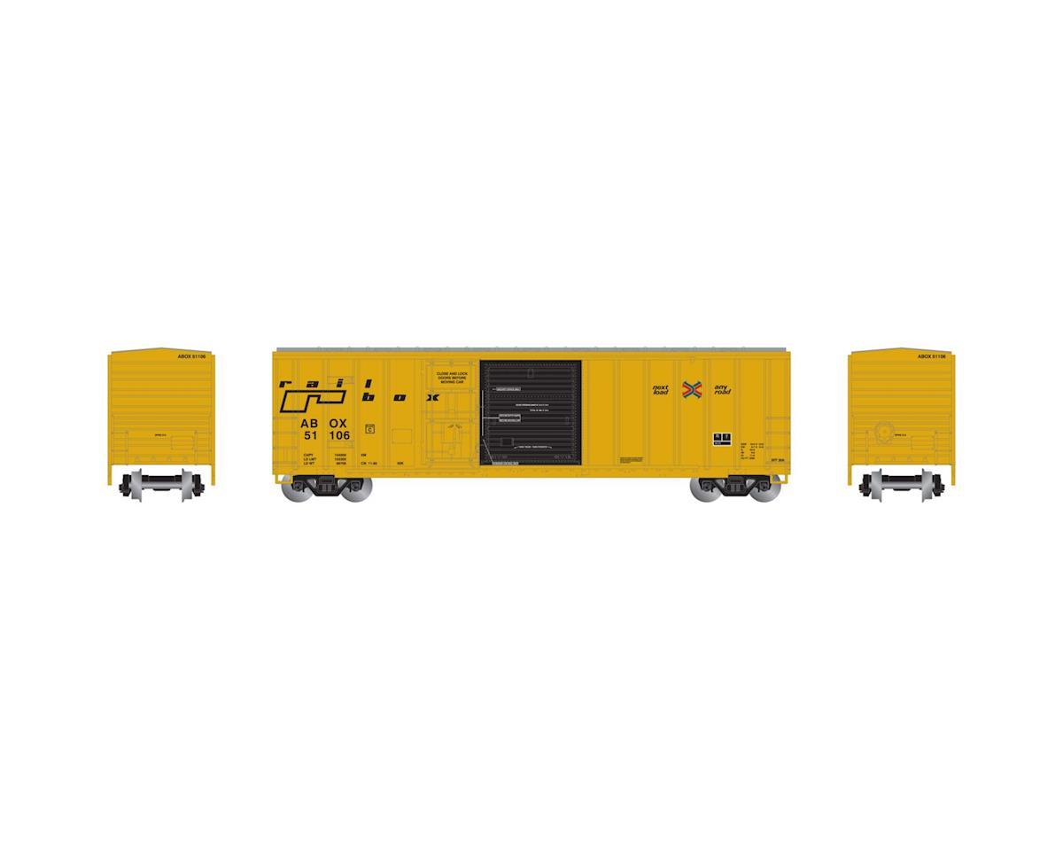Athearn N RTR 50' FMC Combo Door Box, RBOX/Late #51106