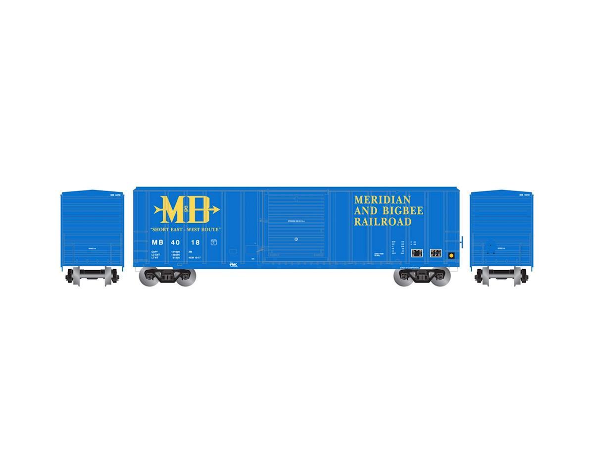 Athearn N 50' FMC 5347 Box, M&B #4018