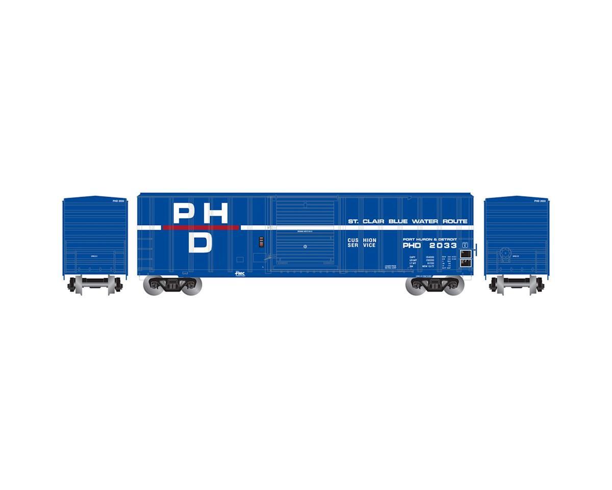 Athearn N 50' FMC 5347 Box, PH&D #2033