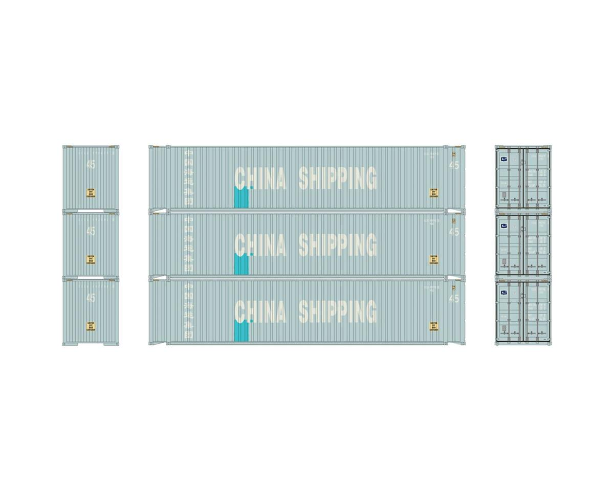 Athearn HO RTR 45' Container, China Shipping (3)