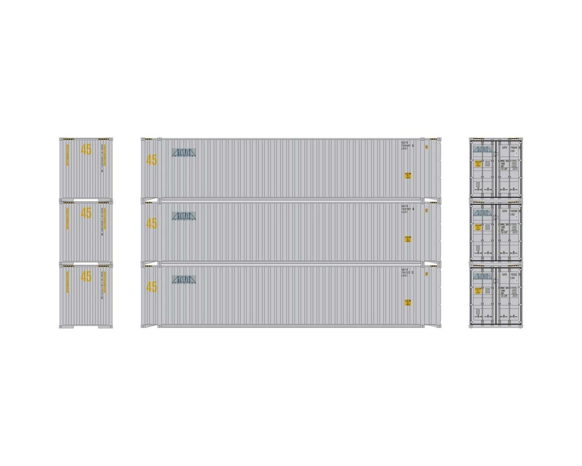 Athearn HO RTR 45' Container, Gateway (3)