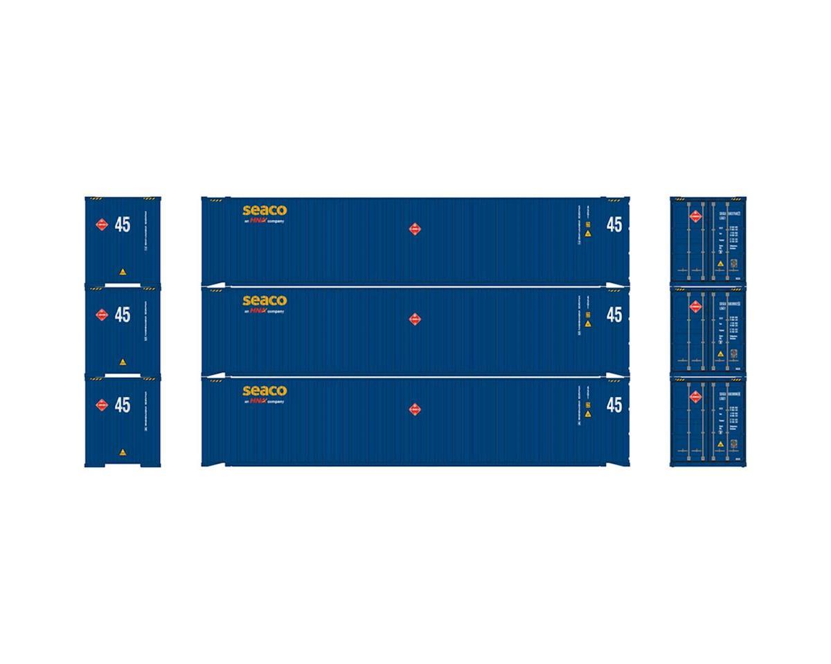 Athearn HO RTR 45' Container, Seaco w/HNA Logo (3)