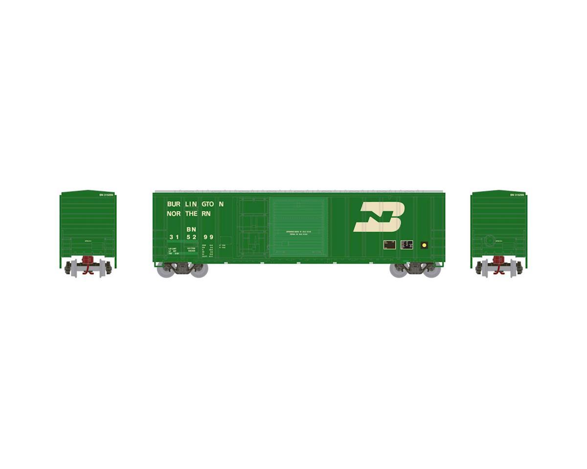 Athearn N 50' FMC Combo Door Box, BN #315299