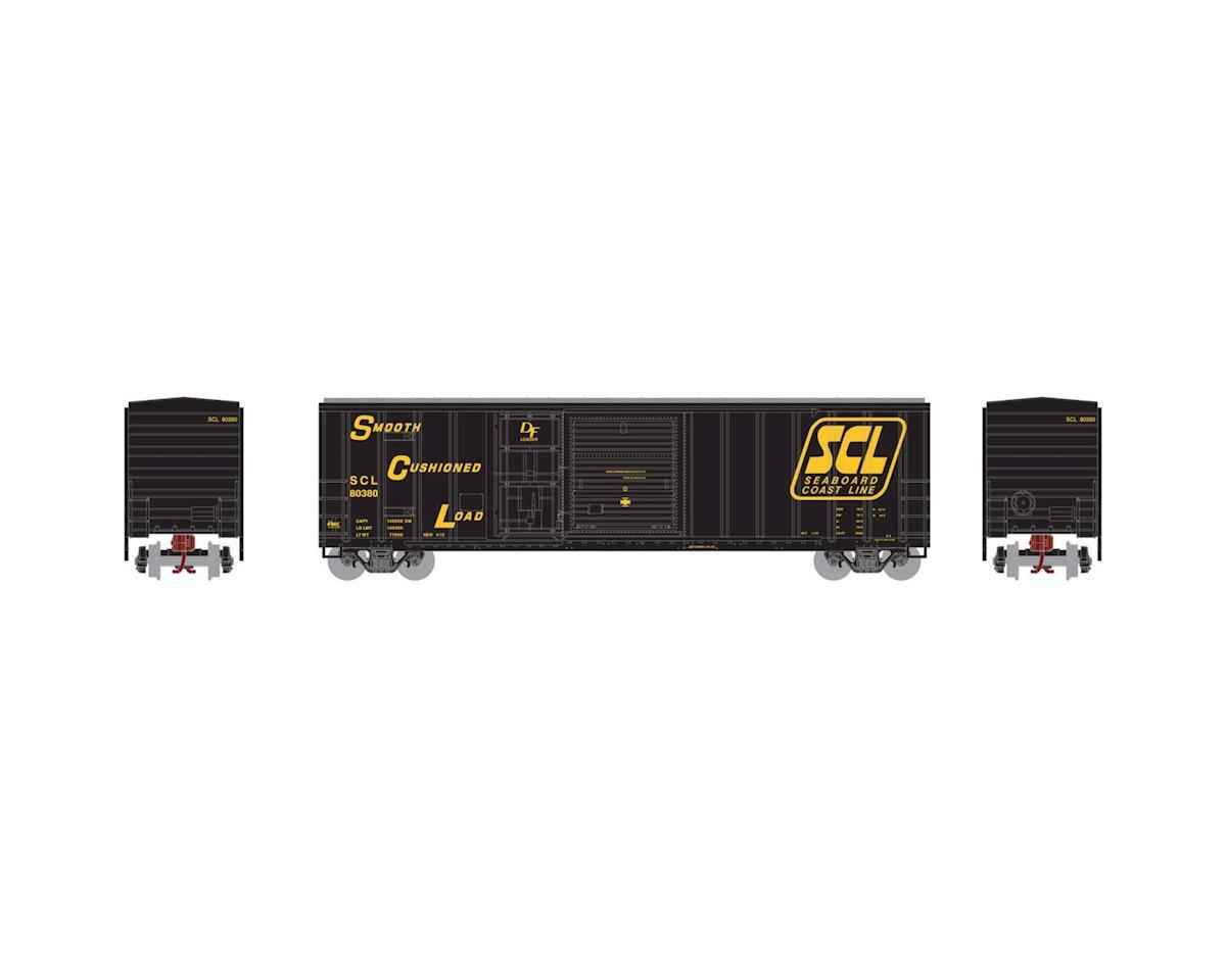 Athearn N 50' FMC Combo Door Box, SCL #80380