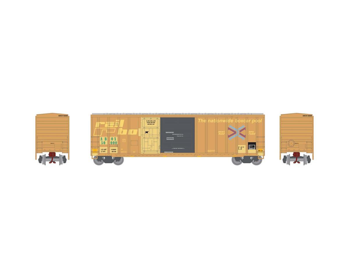Athearn N 50' FMC Combo Door Box, Rail Box #50000