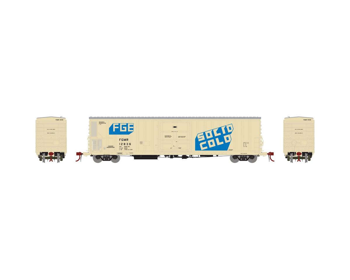 N 57' Mechanical Reefer, FGE/FGMR #12836 by Athearn