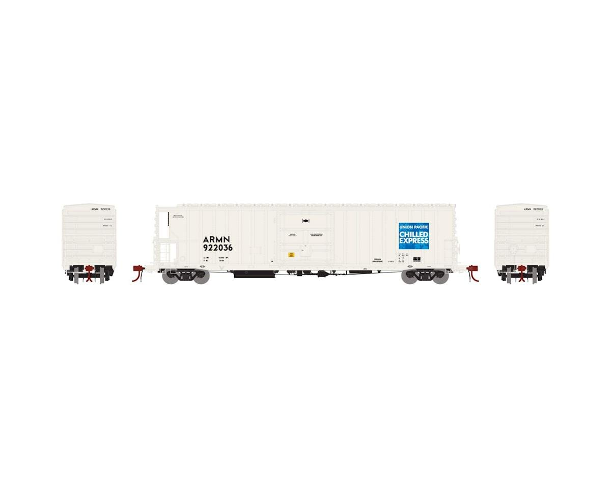 Athearn N 57' Mech Reefer, UP/ARMN/Chilled Express #902036
