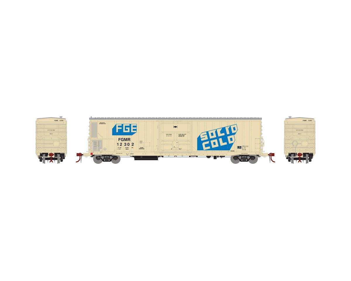 N 57' Mechanical Reefer,FGE/FGMR/Solid Cold #12302 by Athearn