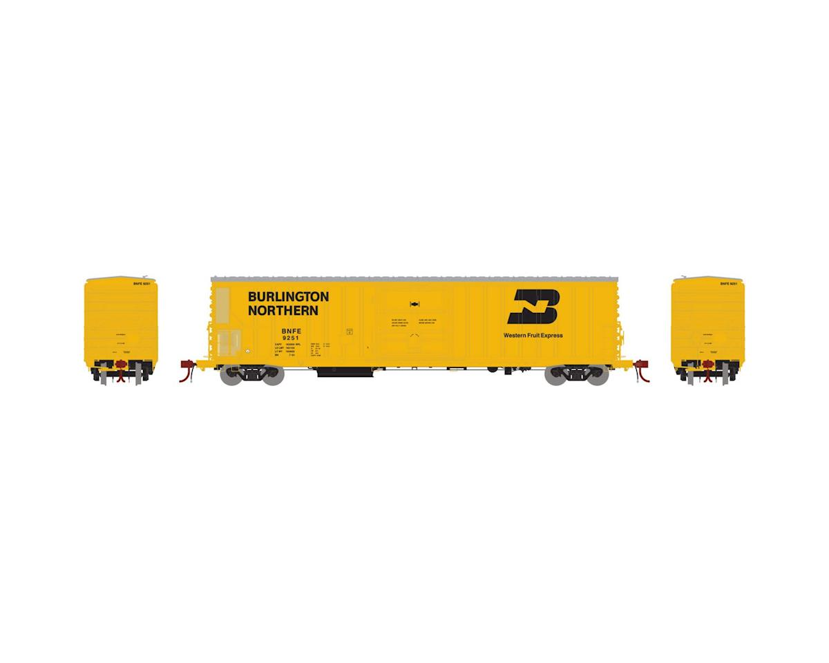 Athearn N 57' Mechanical Reefer w/Sound, BNFE #9251