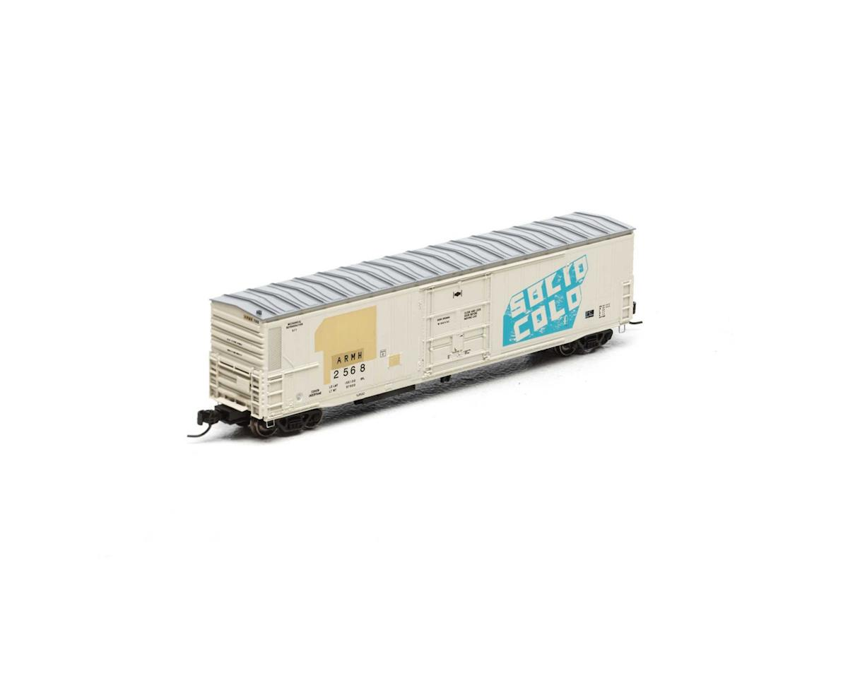 Athearn N 57' Mech Reefer w/Sound,UP/ARMH/Solid Cold #2568