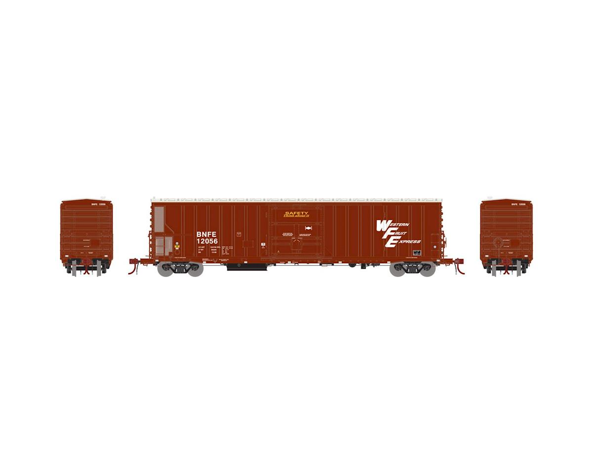 Athearn N 57' Mechanical Reefer w/Sound, BNFE/WFE #12056