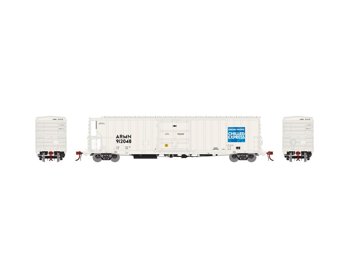 Athearn N 57' Mech Reefer w/Sound, UP/ARMN/Chilled #912048