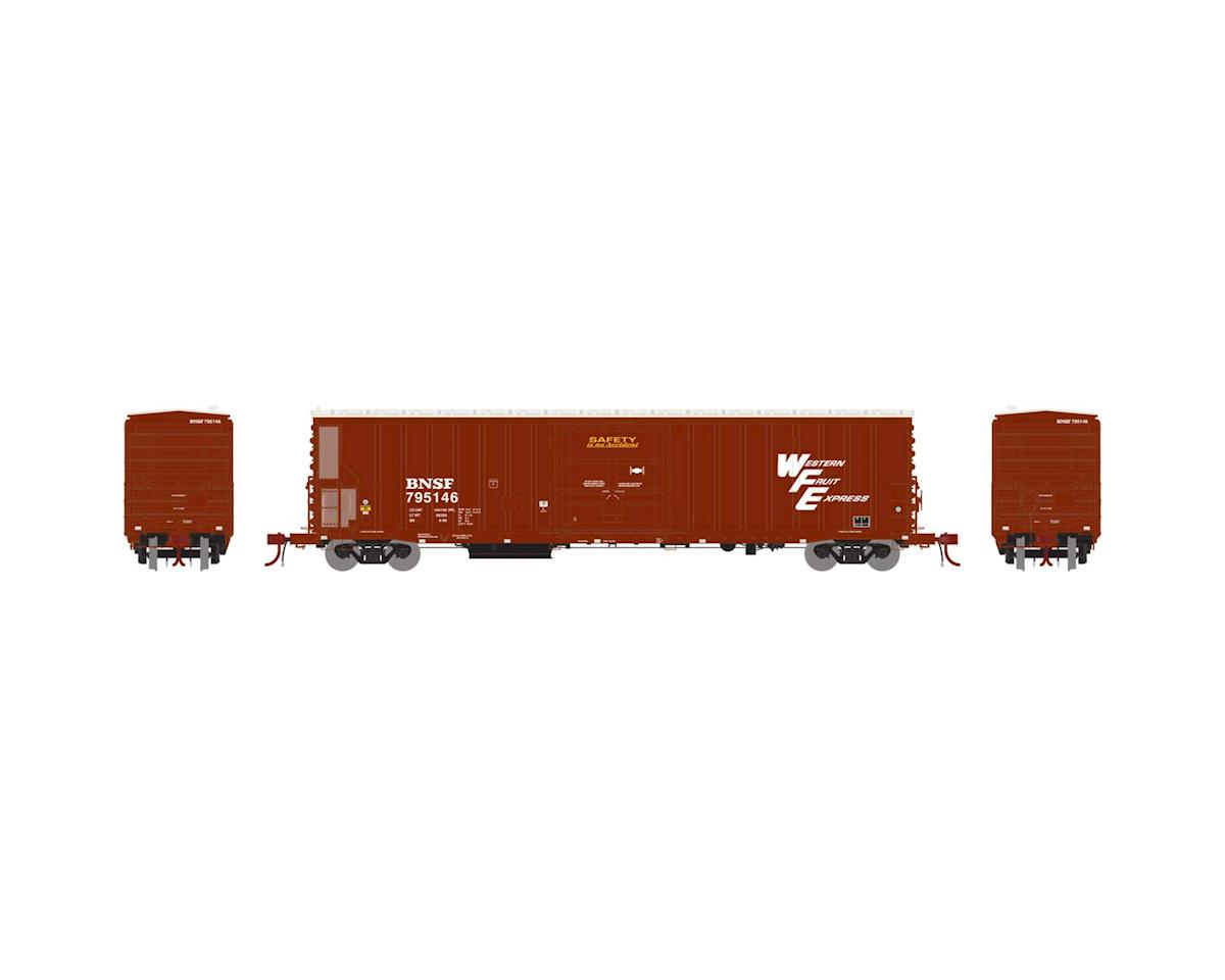 Athearn N 57' Mechanical Reefer w/Sound, BNSF/WFE #794878