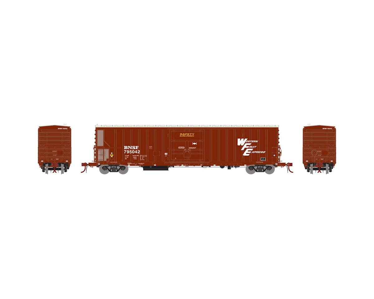 Athearn N 57' Mechanical Reefer w/Sound, BNSF/WFE #795042