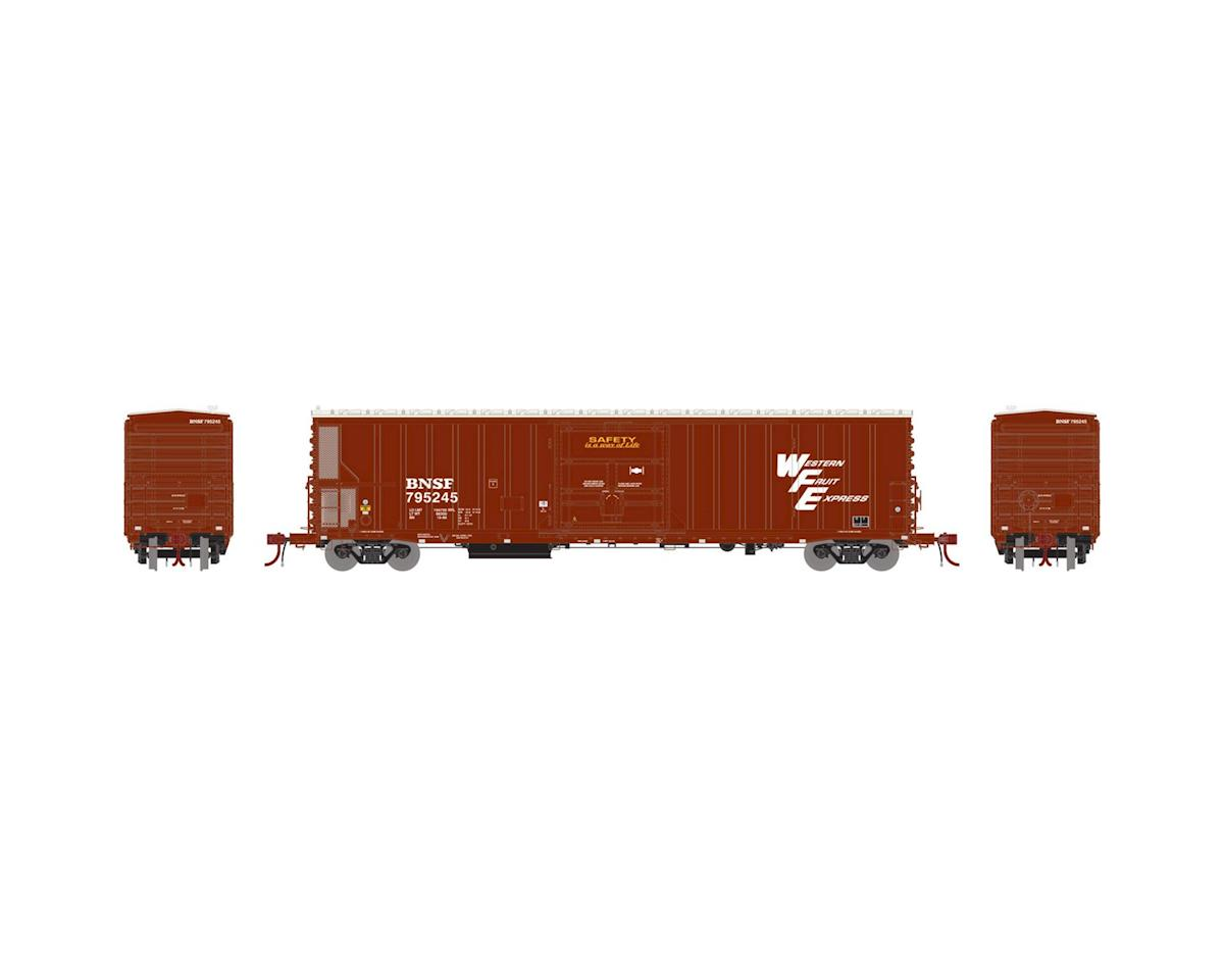 Athearn N 57' Mechanical Reefer w/Sound, BNSF/WFE #795245