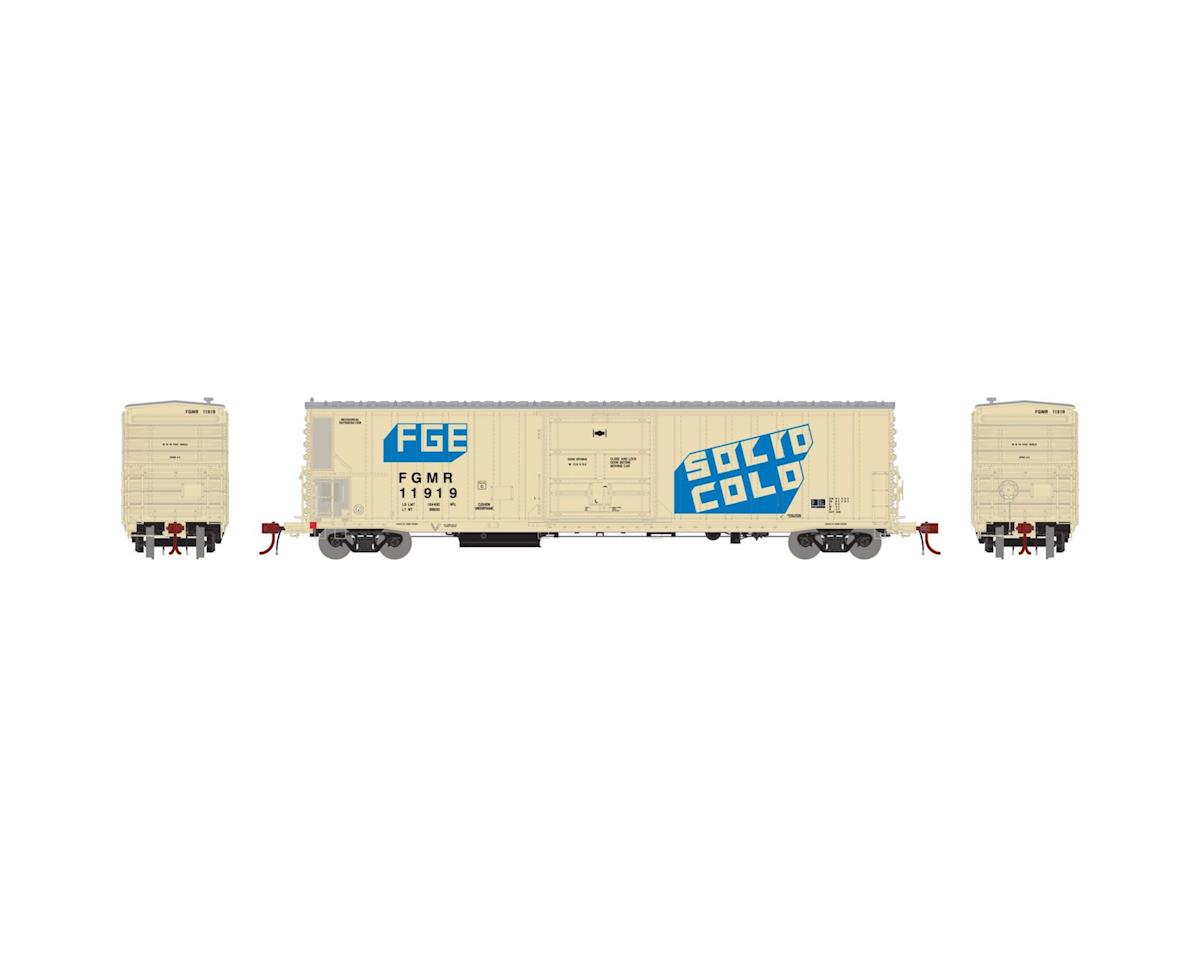 Athearn N 57' Mech Reefer w/Sound, FGE/FGMR/Solid Cold #1