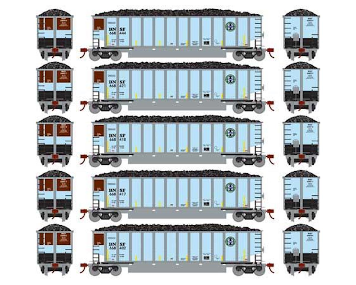 Athearn N Bethgon Coalporter w/Load, BNSF #2 (5)