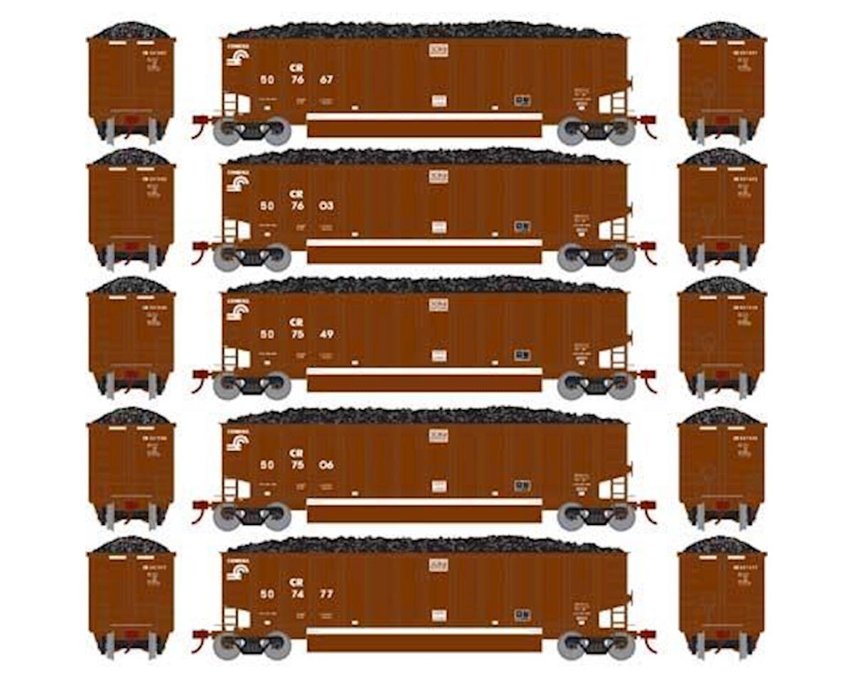 Athearn N Bethgon Coalporter w/Load, CR #1 (5)