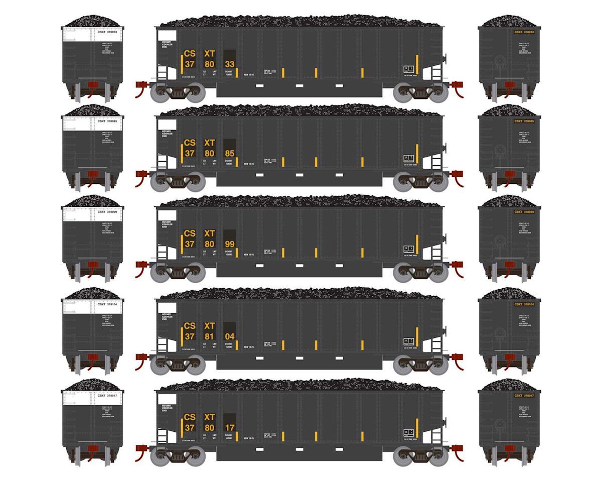 Athearn N Bethgon Coalporter w/Load, CSX #2 (5)