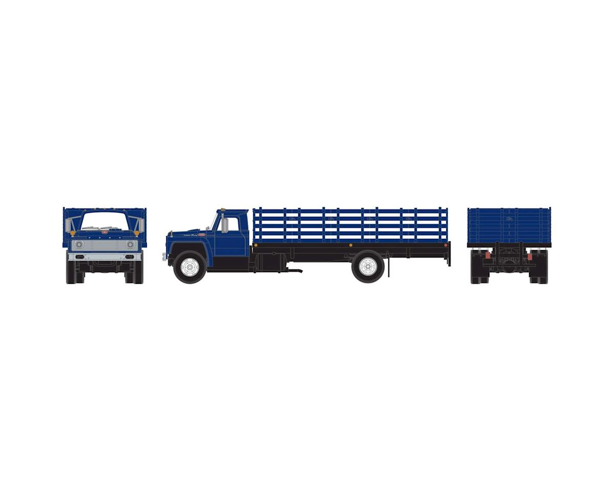 Athearn HO RTR Ford F-850 Stakebed Truck, Blue
