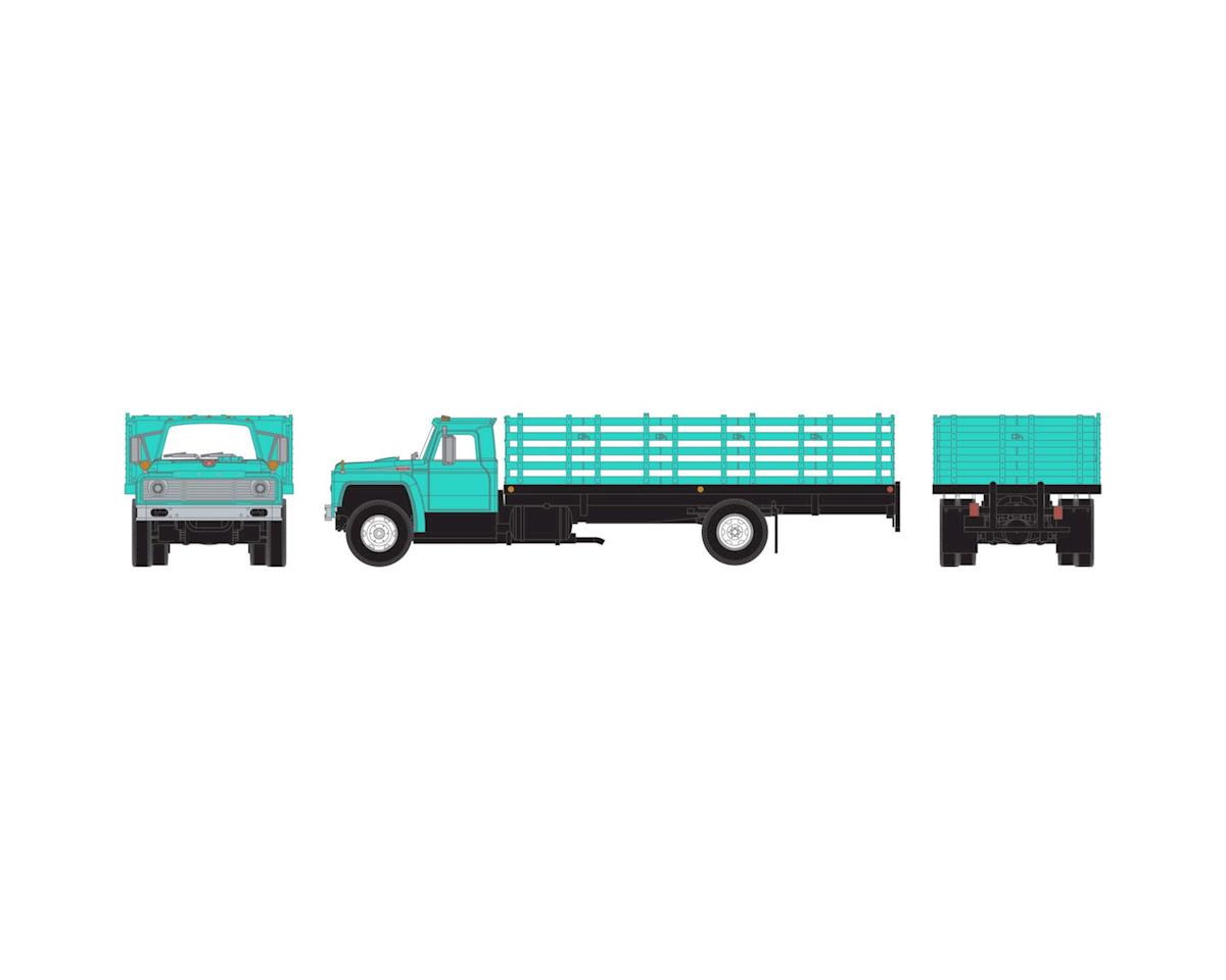 Athearn HO RTR Ford F-850 Stakebed Truck, Jade