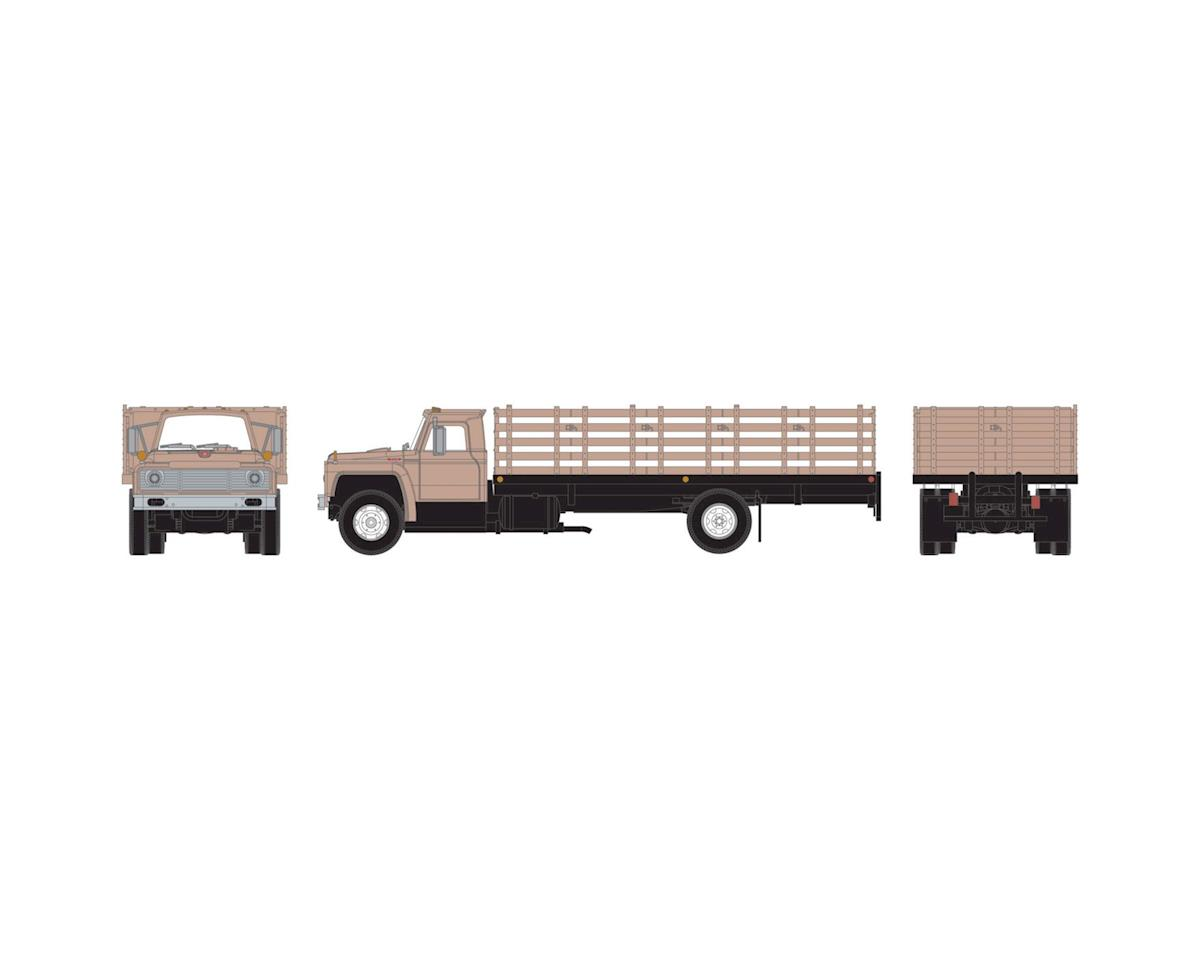 Athearn HO RTR Ford F-850 Stakebed Truck, Tan