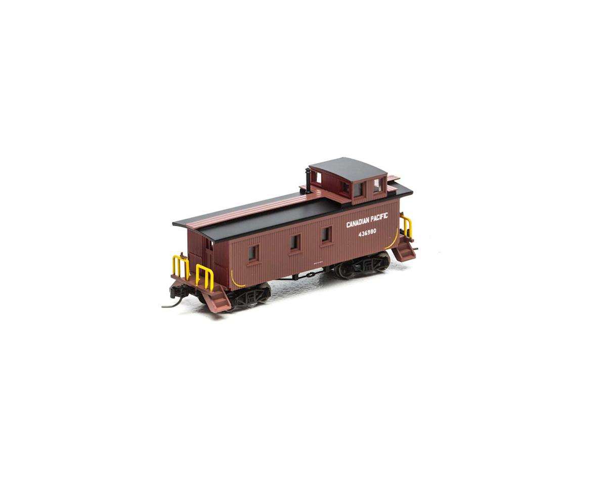 Athearn N 30' 3-Window Caboose, CPR #436980