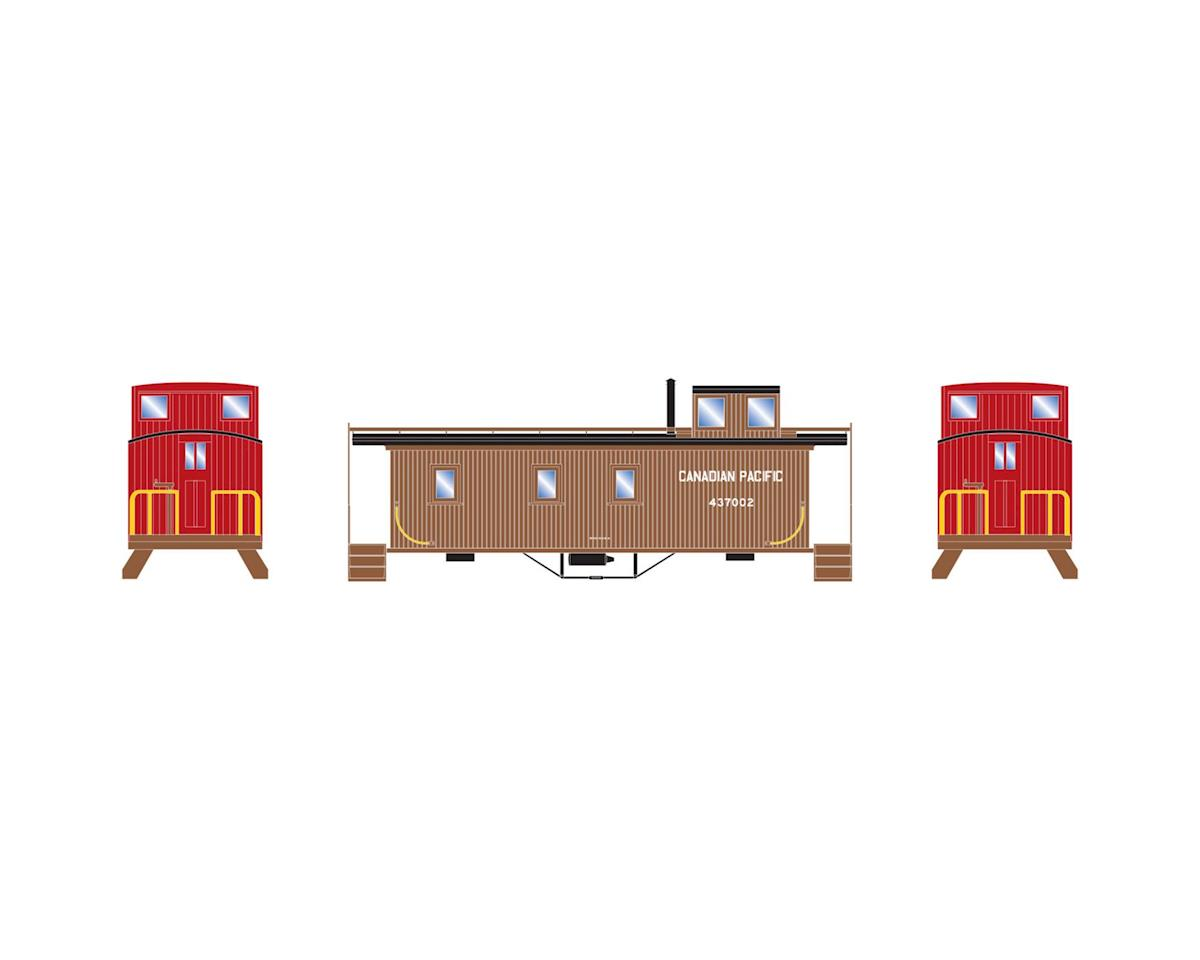 Athearn N 30' 3-Window Caboose, CPR #437002