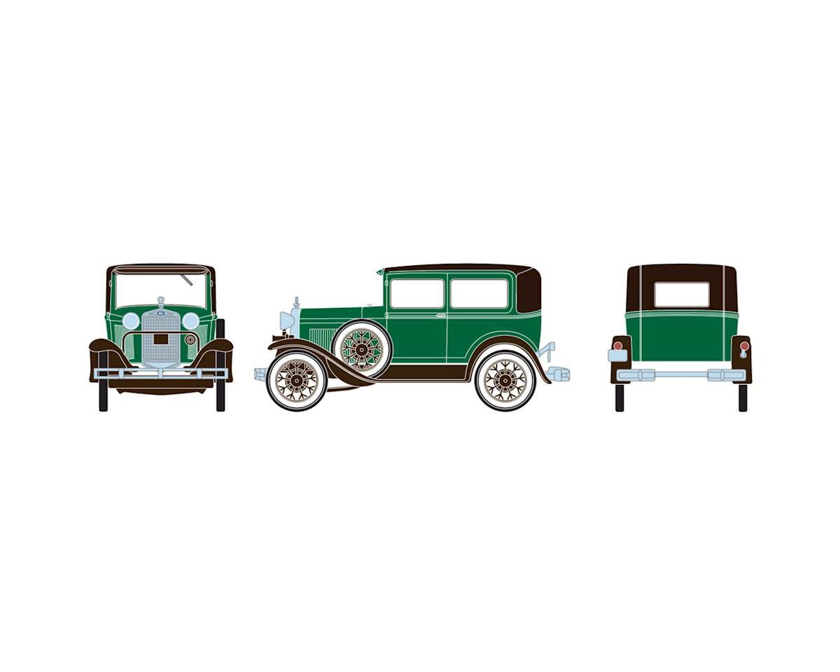 Athearn HO RTR Model A Sedan, Dark Green