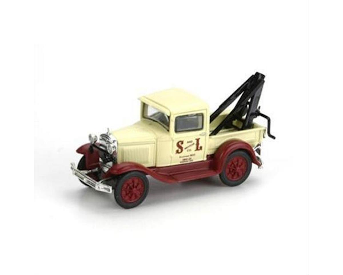 Athearn HO RTR Model A Tow Truck, S&L Motor Co