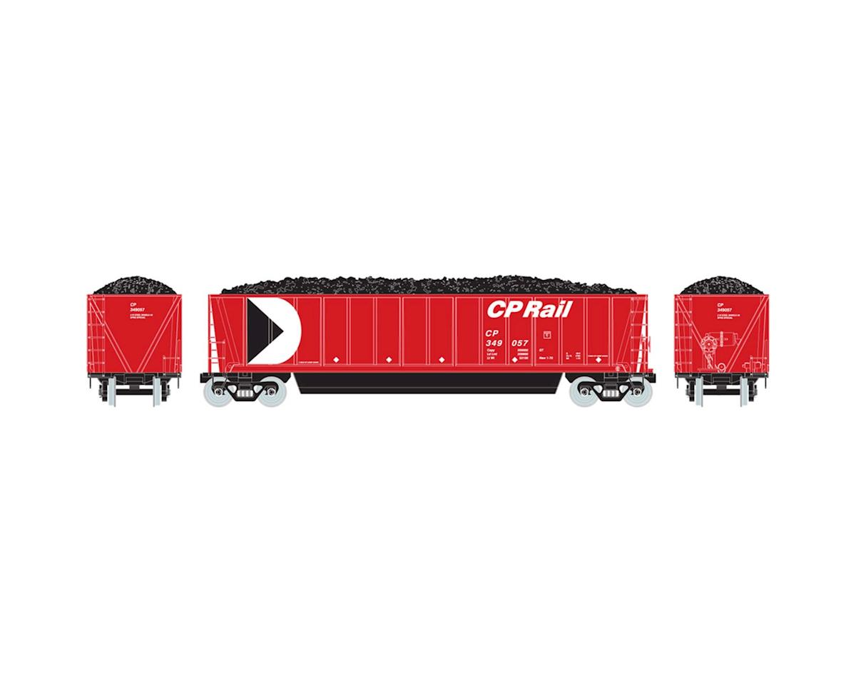 Athearn HO RTR Bathtub Gondola w/Coal Load, CPR #349057