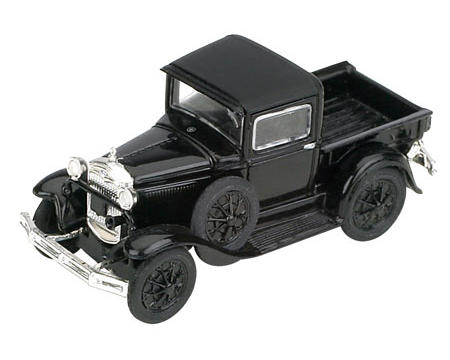 Athearn HO-Scale Model A Pickup (Black)