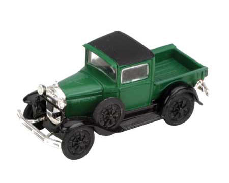 Athearn HO-Scale Model A Pickup (Dark Green)