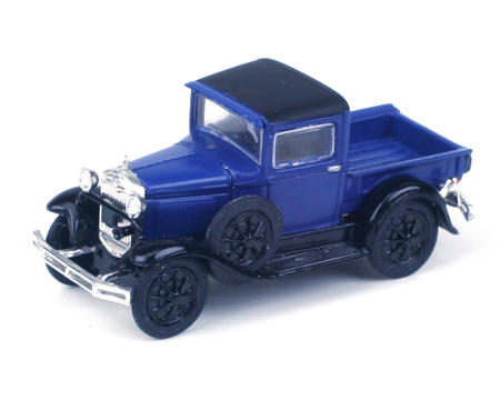 Athearn HO-Scale Model A Pickup (Blue)