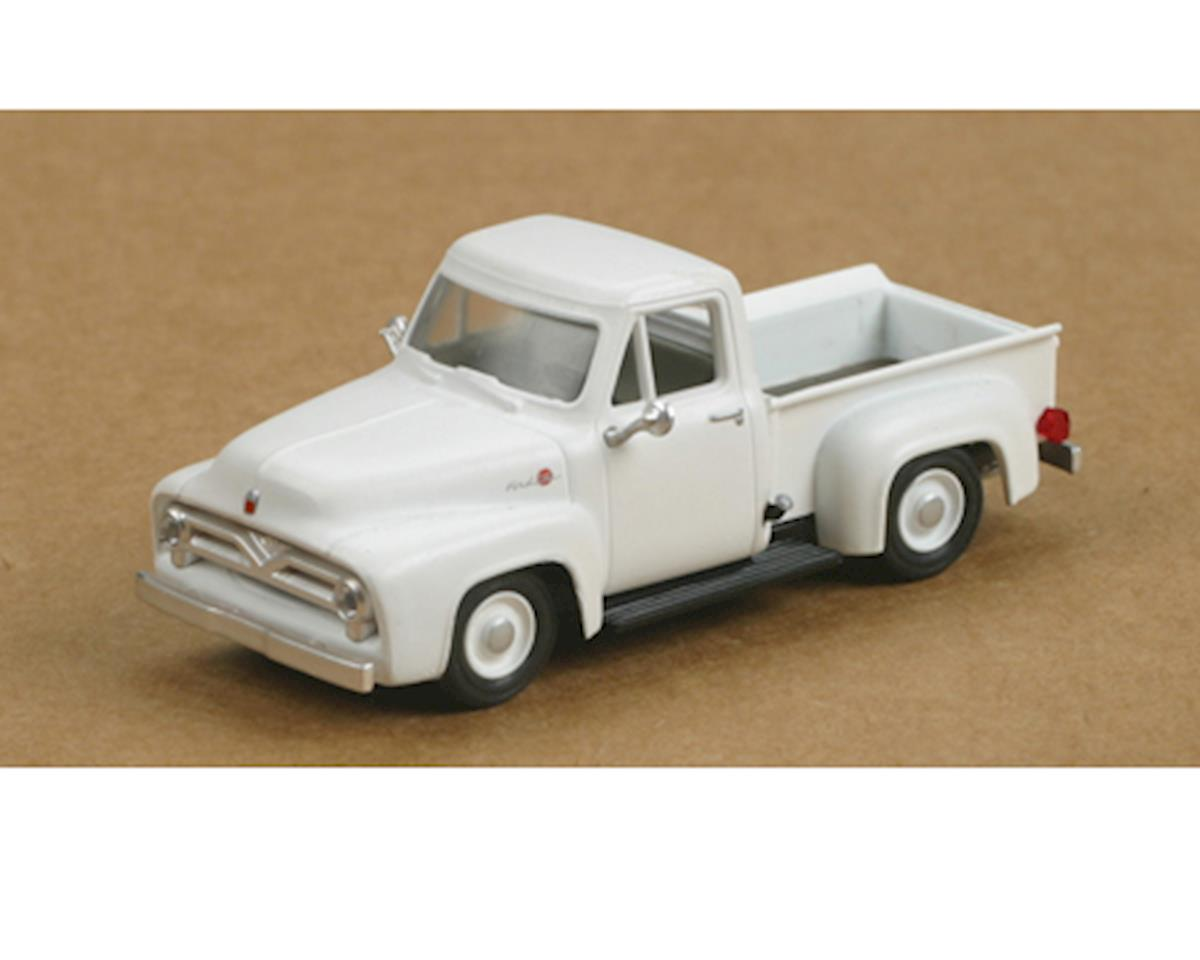 Athearn HO-Scale 1955 Ford F-100 Pickup (White)