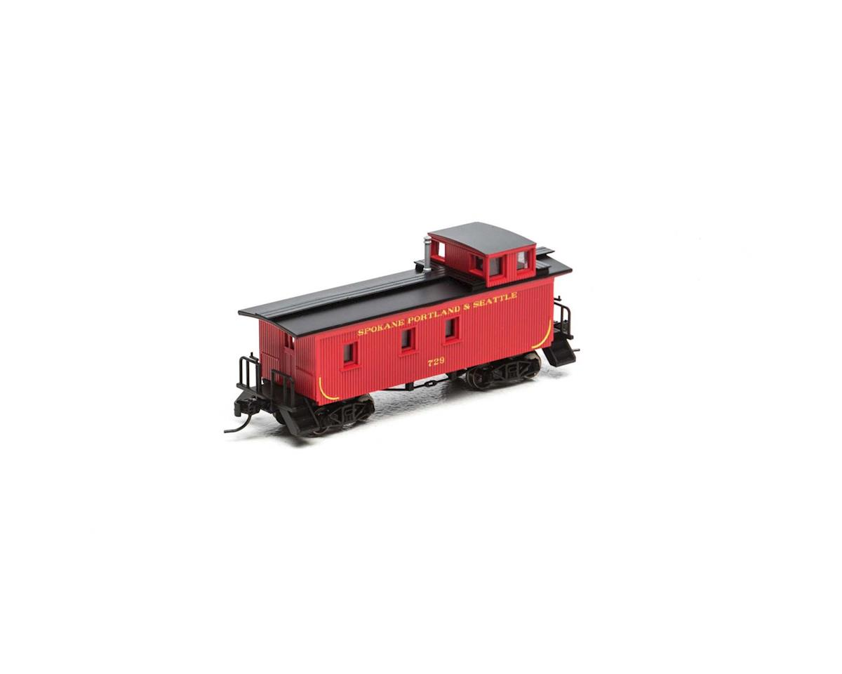 Athearn N 30' 3-Window Caboose, SP&S #729