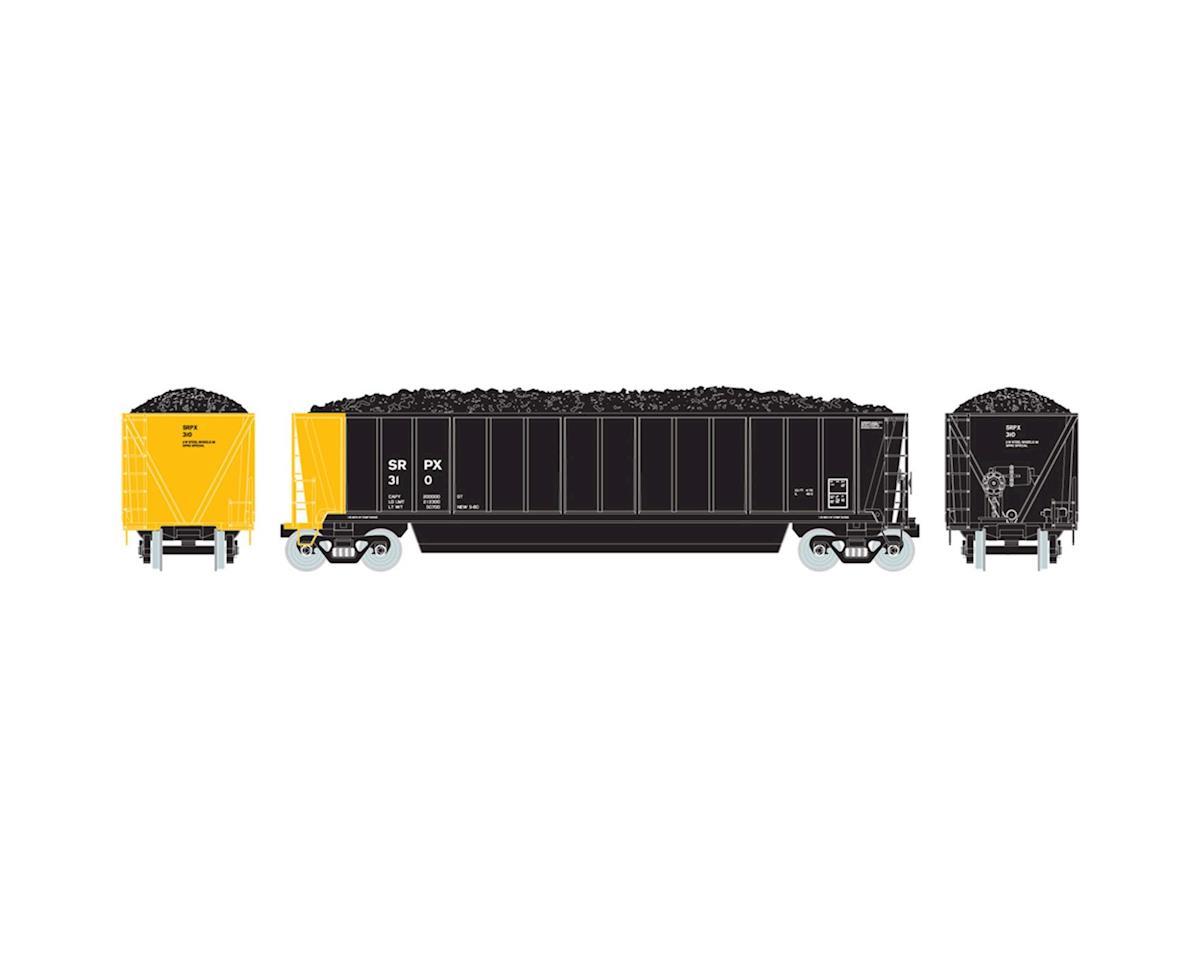 Athearn HO RTR Bathtub Gondola w/Coal Load, SRPX #310