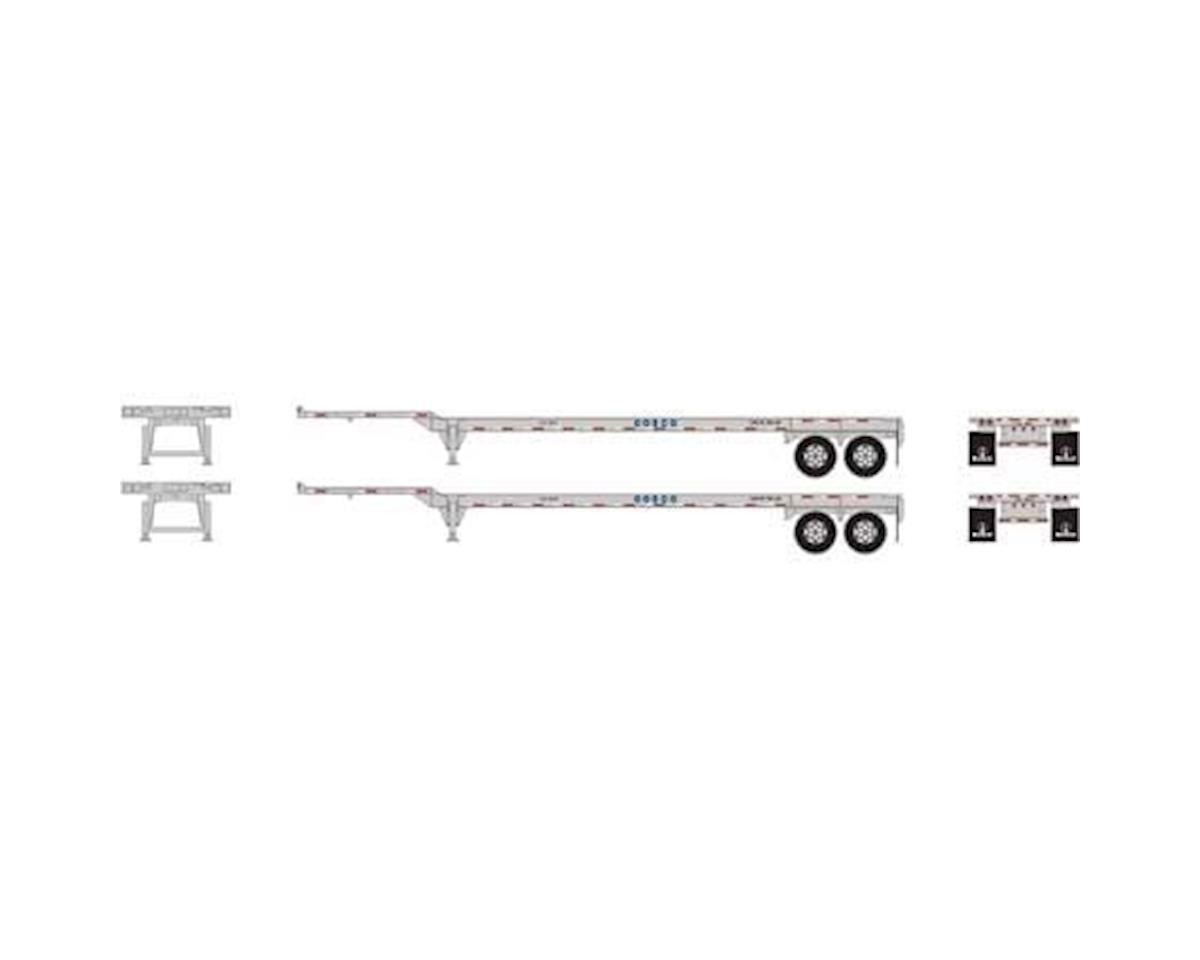 Athearn HO RTR 45' Container Chassis, COSCO (2) | relatedproducts