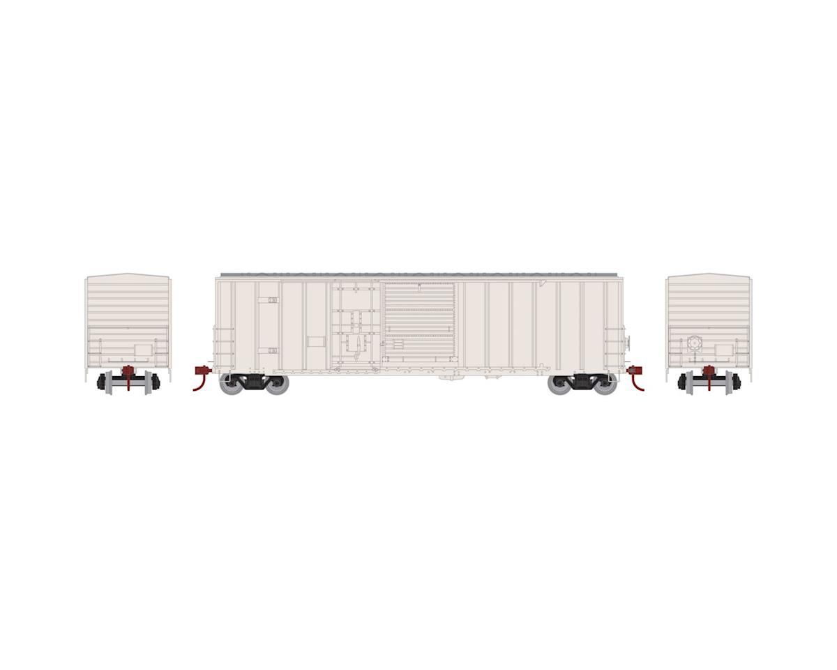 Athearn HO RTR 50' FMC Combo Door Box, Undecorated