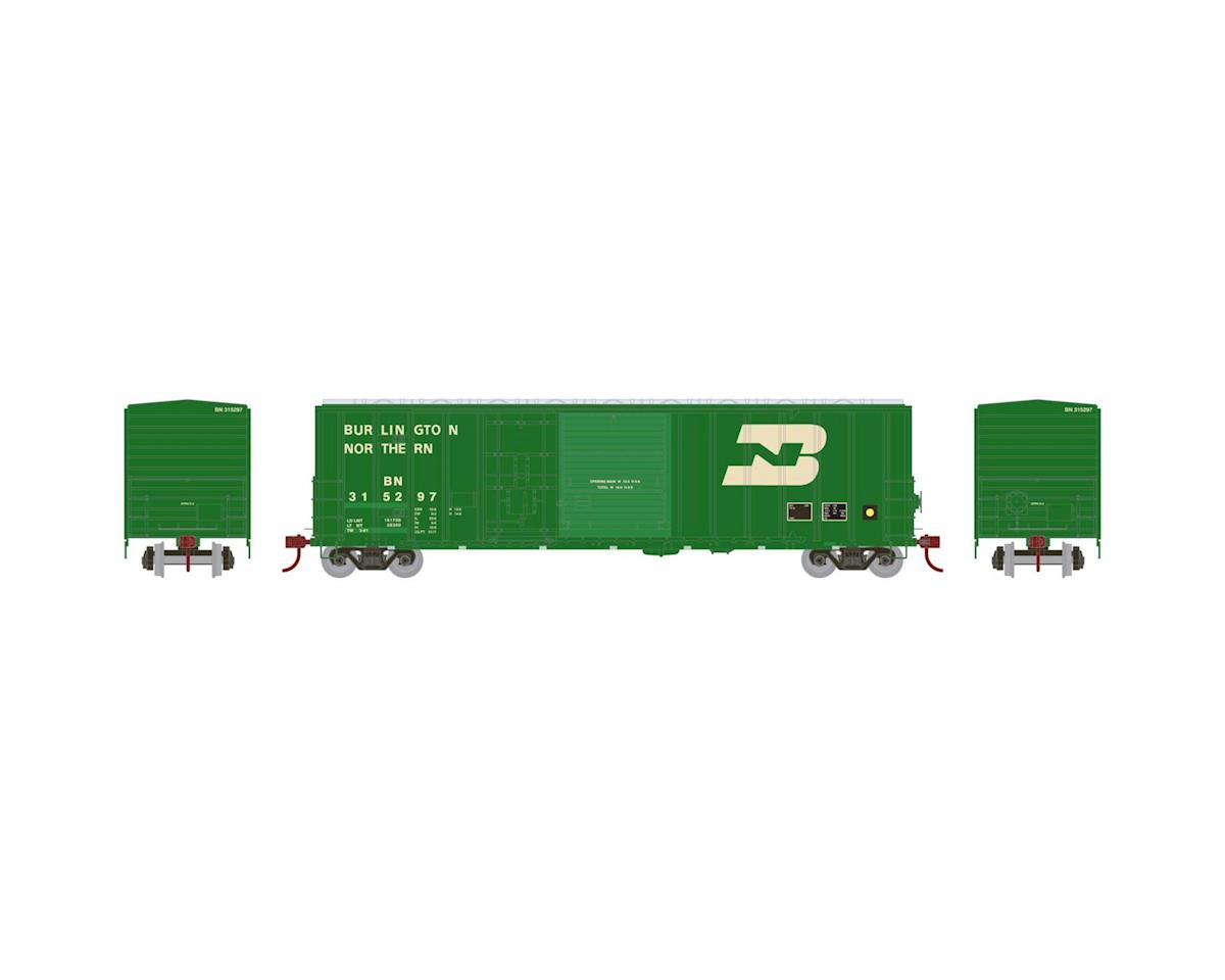 Athearn HO RTR 50' FMC Combo Door Box, BN #315297