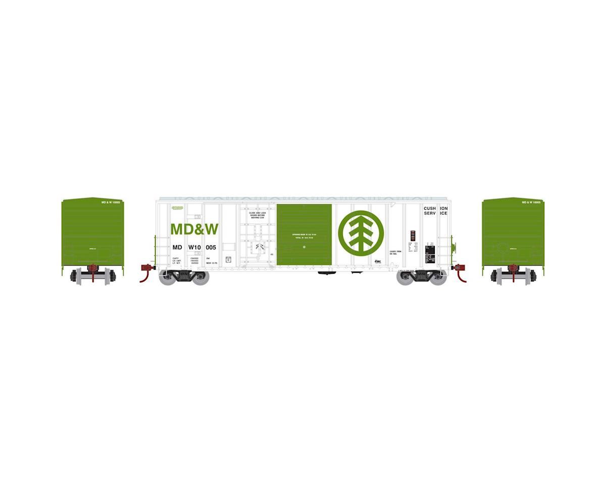Athearn HO RTR 50' FMC Combo Door Box, MD&W #10005