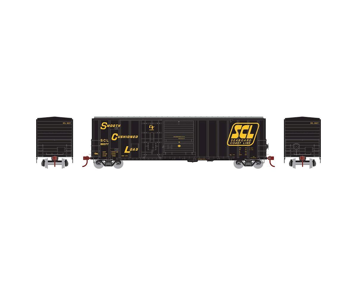 Athearn HO RTR 50' FMC Combo Door Box, SCL #80377