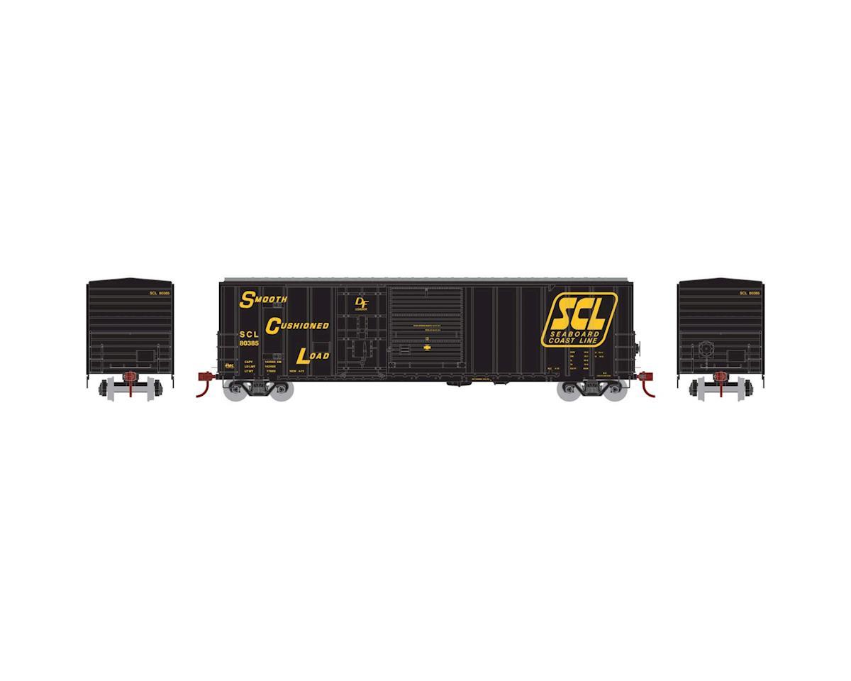 Athearn HO RTR 50' FMC Combo Door Box, SCL #80385
