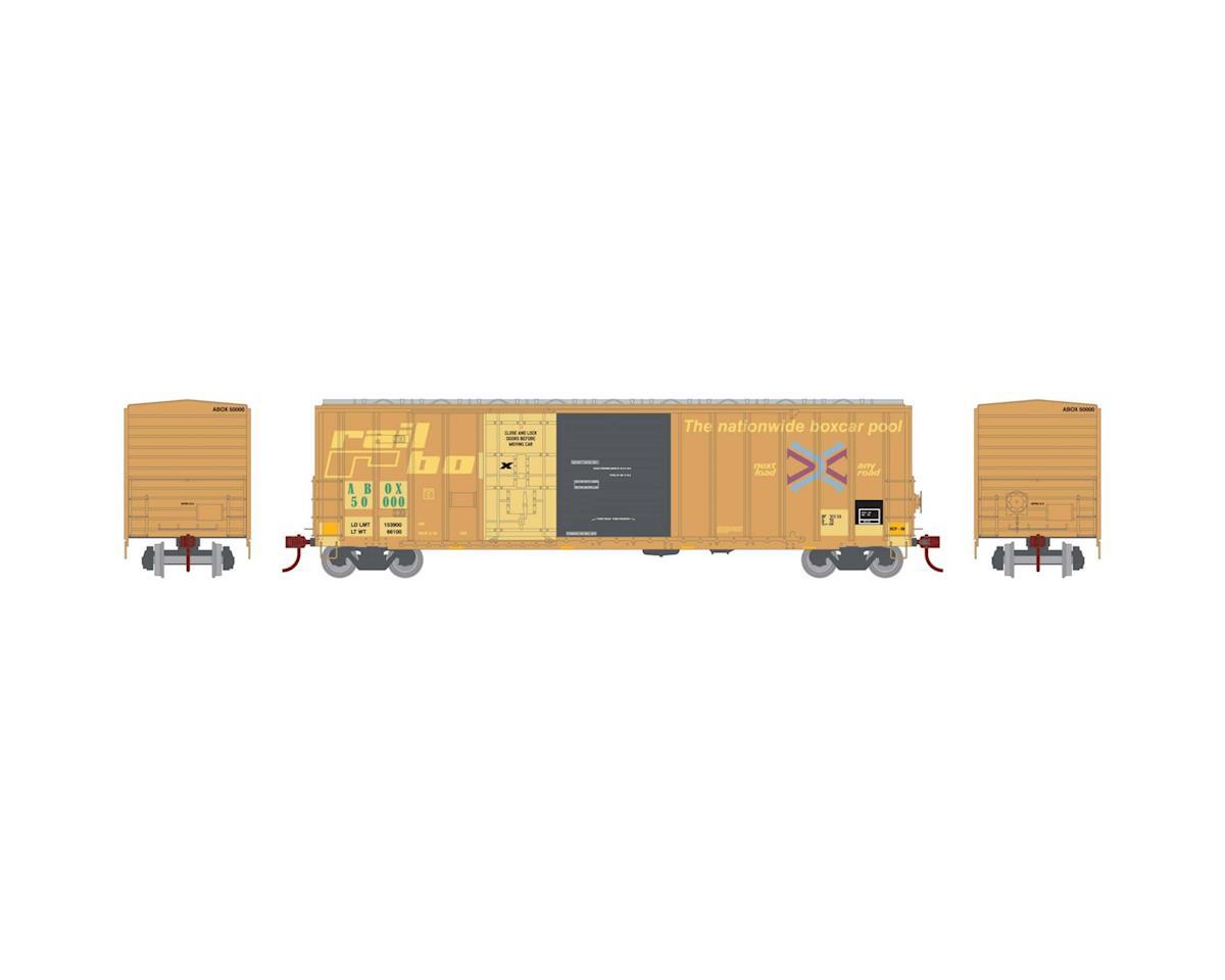 Athearn HO RTR 50' FMC Combo Door Box, Rail Box #50000