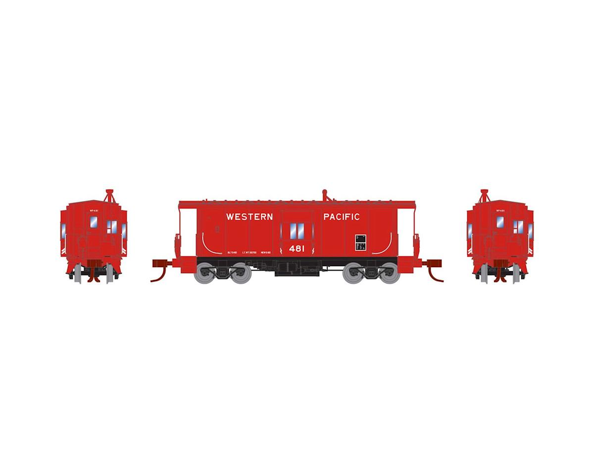 Athearn N Bay Window Caboose, WP #481