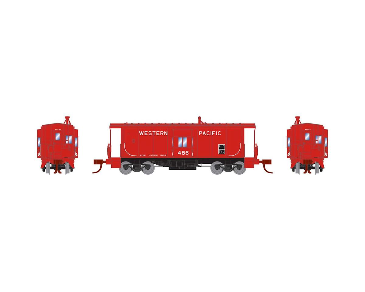 Athearn N Bay Window Caboose, WP #486