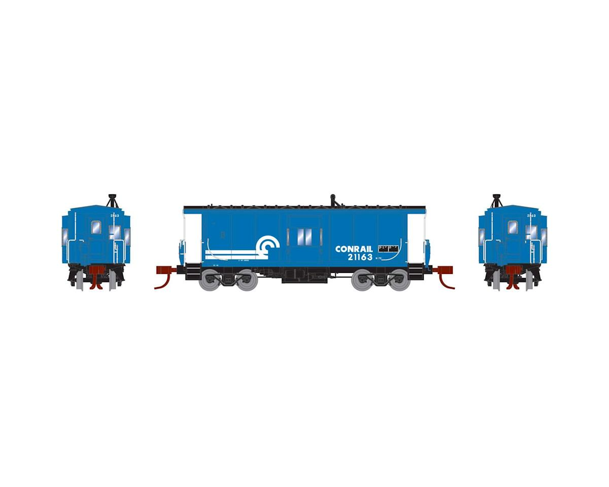 Athearn N Bay Window Caboose, CR #21163